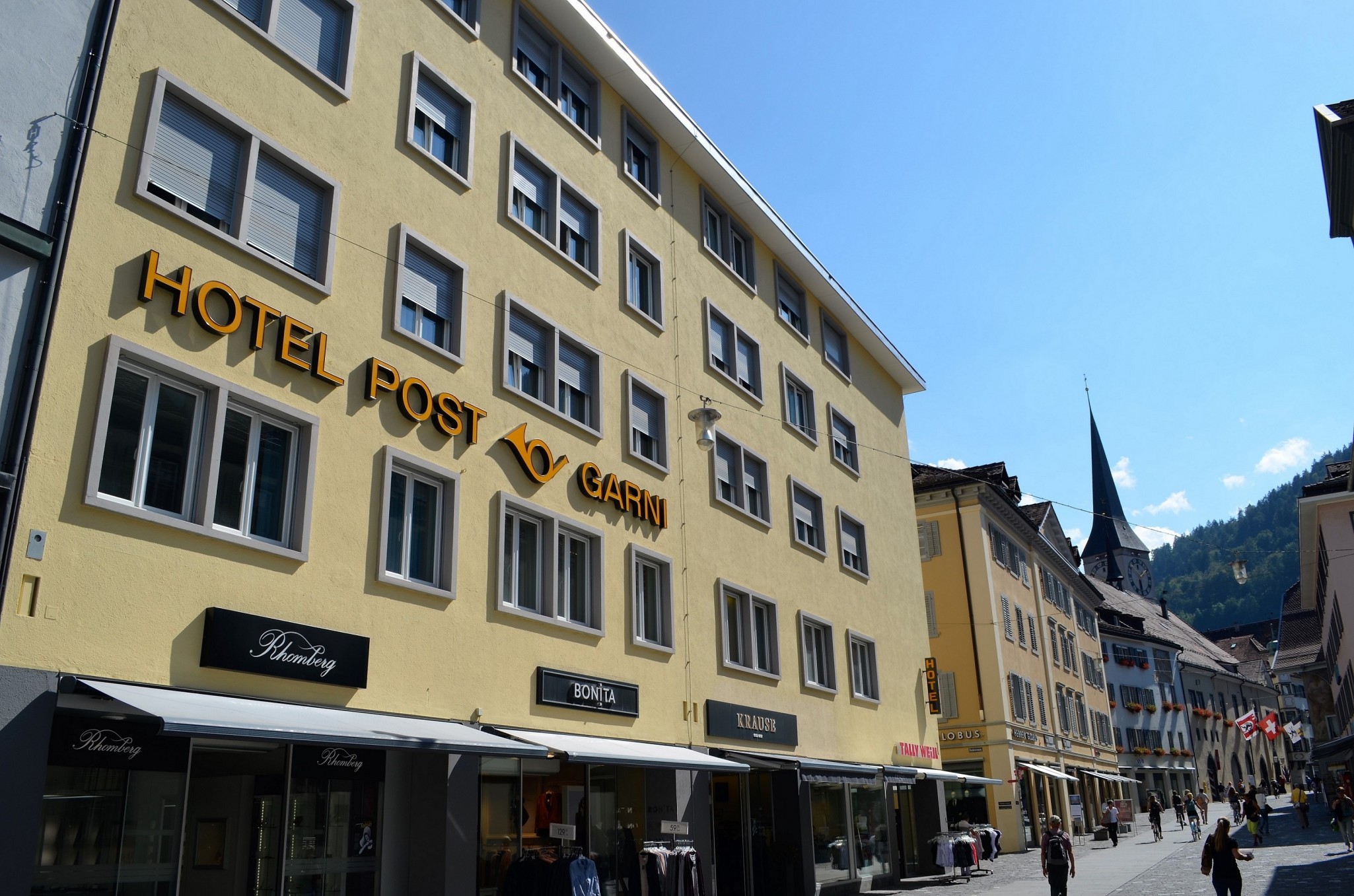 Central Hotel Post in Chur, Schweiz - Hotel Post Chur